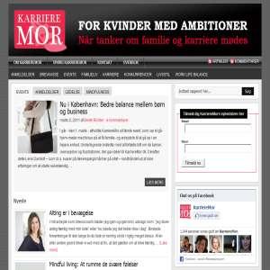 KarriereMor.dk - for kvinder med ambitioner