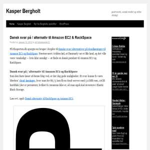 Kasper Bergholts blog om teknologi og medier