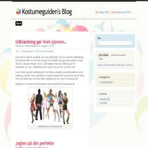 Kostumeguiden - Blog om kostumer og udklædning