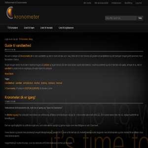 Kronometer.dk blog om ure