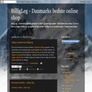 BilligLeg - danmarks bedste online shop.