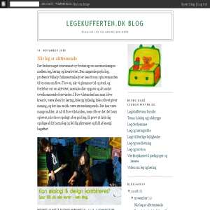 Legekuffertens Blog