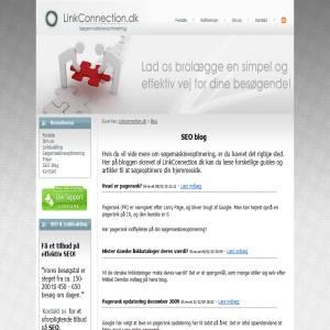 SEO blog - LinkConnection.dk
