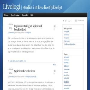 Livologi - studiet i at leve livet lykkeligt