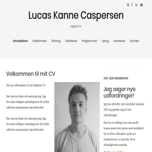 Marketing specialist - Lucas Kanne Caspersen