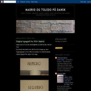 Madrid og Toledo på Dansk