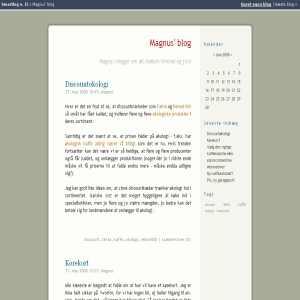 Magnus blog