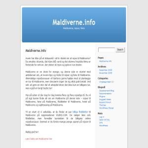 Maldiverne.info - Blog om Maldiverne som rejsemål