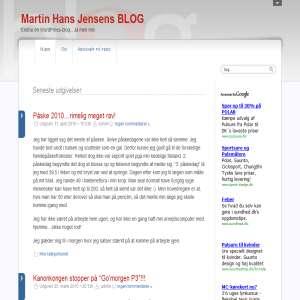 Martin Hans Jensens BLOG