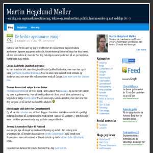Martin Hegelund - blog om SEO, politik og teknologi