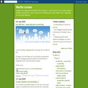 Martin Larsen - Den Blå Avis Salgschef