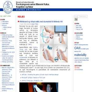 Forskningsnetværket Materiel Kultur, Kognition & Natur