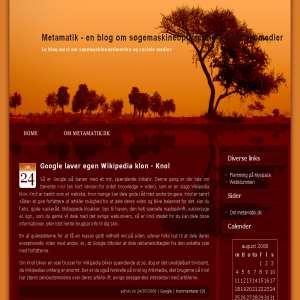 Metamatik - en blog om søgemaskineoptimering & sociale medier