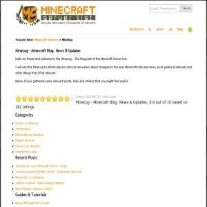 Minecraft Servers Blog