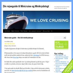 Minicruise - få det bedste cruise