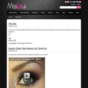 Blog for misslux.dk