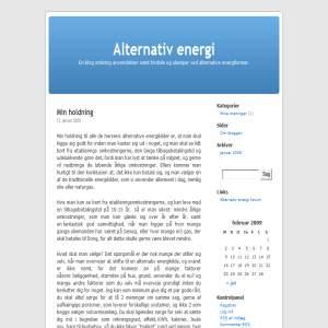 Alternativ energi - mivm.dk