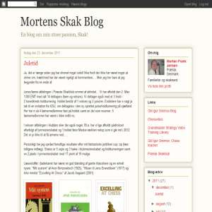 Mortens skak blog