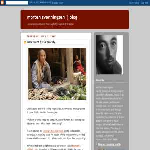 morten svenningsen | blog