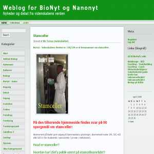 BioNyt - Videnskabens Verden