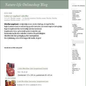 Nature-life Onlineshops Blog