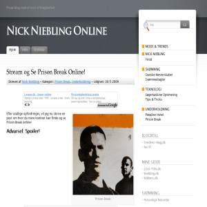 Nick Niebling Online