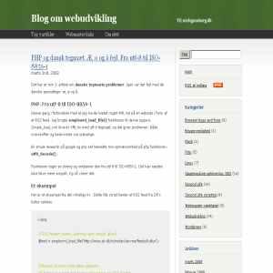 Niels Gamborg. Blog om webudvikling