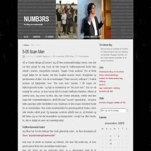 Numb3rs-bloggen
