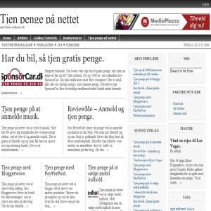 Tjen penge på nettet | OnlineIndkomst.dk
