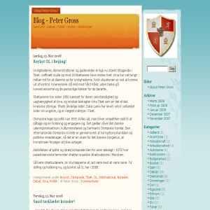 Peter Gross - Min webblog