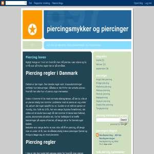 Piercingsmykker og Piercinger