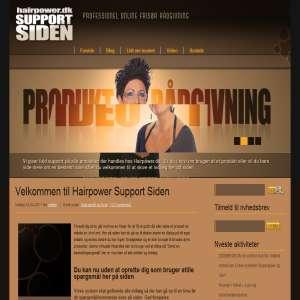 Hairpower Support Siden