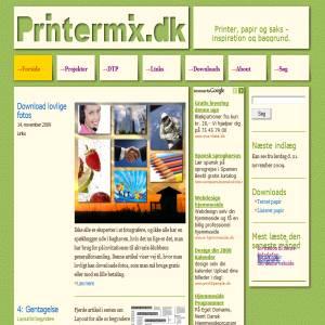 Printermix.dk - printer, papir, fantasi og saks