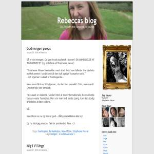 Rebeccas blog
