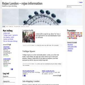 Rejse London