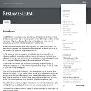 Blog om reklamebureauer