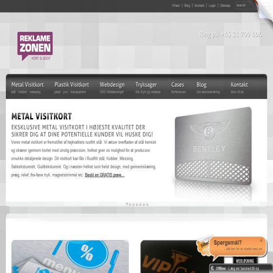 Reklamezonen blog
