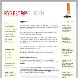 Rygestop Guiden - Få hjælp til en succesfuld Rygeafvænning