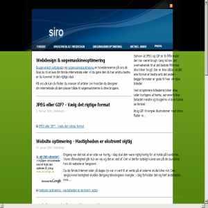 Webdesign & søgemaskineoptimering