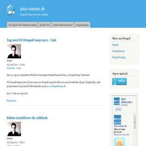 Drupal CMS & Open Source weblog