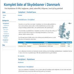Skydebaner i Danmark