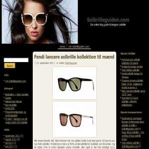 Solbrilleguiden.com - Nyheder om designer solbriller online