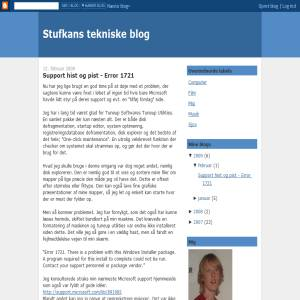 Stufkans blog