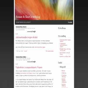 Susan & Kurts weblog