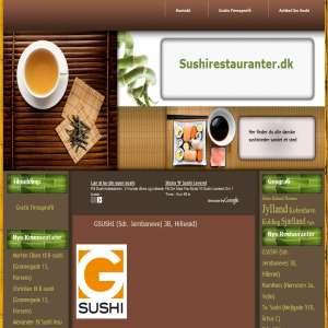 Sushi restauranter