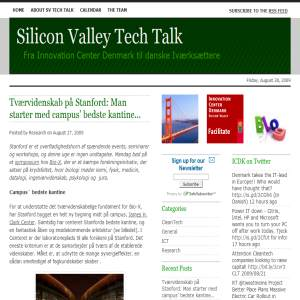 Silicon Valley Tech Talk