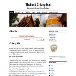 Thailand - Chiang Mai blog