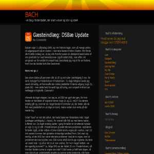The Bach Blog