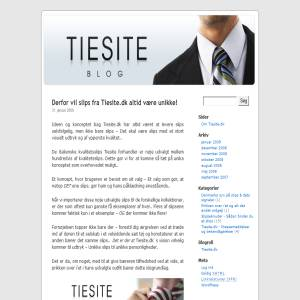 Tiesite.dk Blog - Danmarks slipseblog