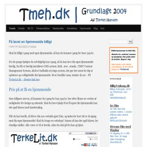 tmeh.dk Af Terkel Hansen